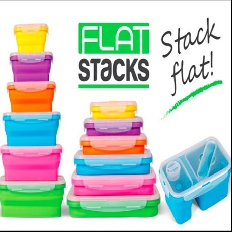 Flatstack Food Containers