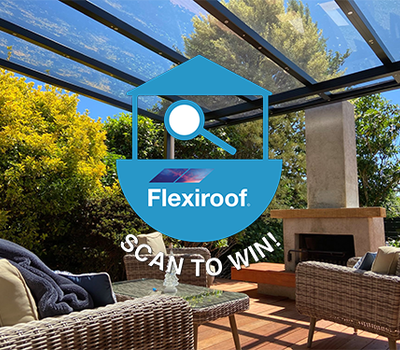 Scan to win with Flexiroof
